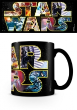 Star Wars, Logo Characters Heat Change Tasse