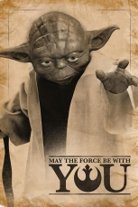 Star Wars, Yoda (May The Force Be With You) Maxi Poster