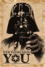 Star Wars, Your Empire Needs You Maxi Poster