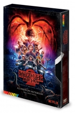 Stranger Things, VHS A5 Premium Notizbuch