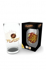 The Flash, Logo Glas Groß 500ml
