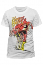The Flash, Scarlet Speedster T-Shirt [White]