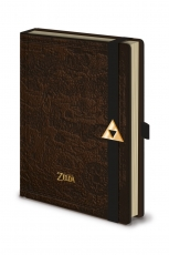The Legend Of Zelda, Hyrule Map A5 Premium Notizbuch