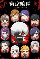 Tokyo Ghoul, Chibi Characters Maxi Poster