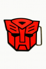 Transformers, Autobot Classic Logo Buckle [Red] inkl. Gürtel