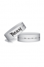 Trivium, Wave Length Wristband [White]