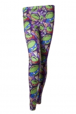 Turtles, All Over Print Legging