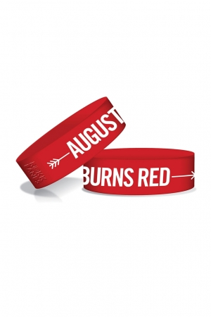 August Burns Red, Arrow Wristband [Red]