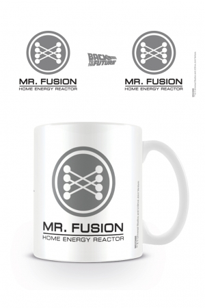Back To The Future, Mr Fusion Tasse