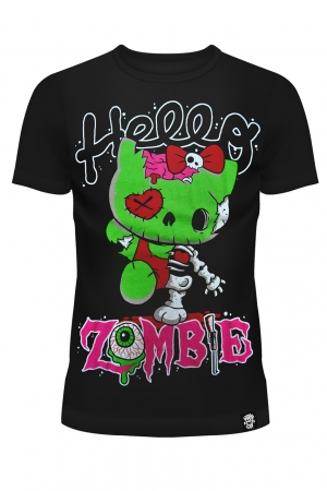 Cupcake Cult, Hello Zombie T-Shirt Ladies