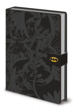 DC Originals, Batman Montage A5 Clasp Notizbuch