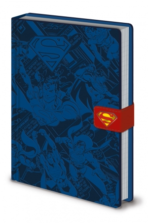 DC Originals, Superman Montage A5 Clasp Notizbuch