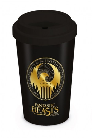 Fantastic Beasts, Macusa Logo Coffee To Go Becher