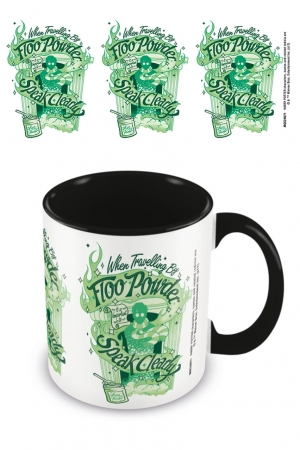 Harry Potter, Floo Powder Coloured Inner Tasse Schwarz