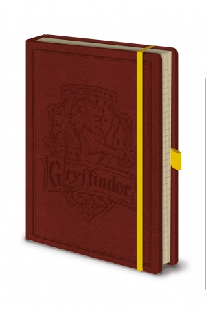 Harry Potter, Gryffindor A5 Premium Notizbuch