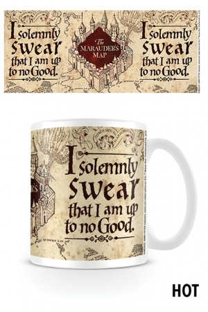 Harry Potter, The Marauders Map Heat Change Tasse