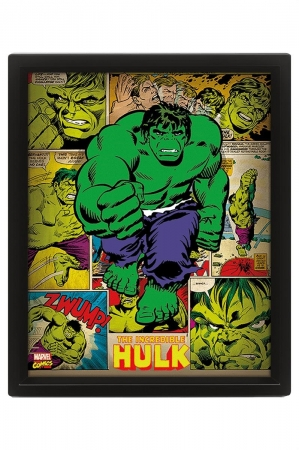 Marvel Retro, Hulk 3D Bild