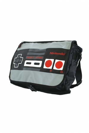 Nintendo, Reversible Flap Controller Messenger Bag