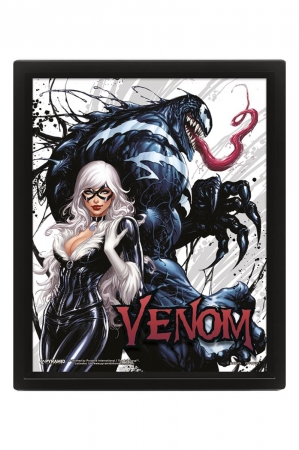 Venom, Teeth And Claws 3D Bild