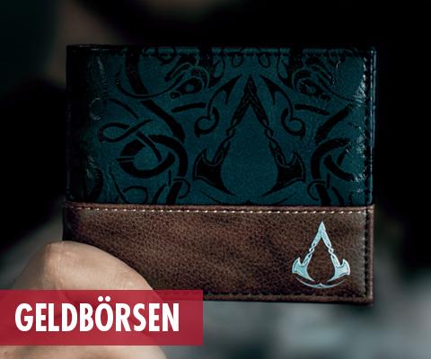 Assassins Creed, Brieftaschen,  Portemonnaie, Geldbörsen,...