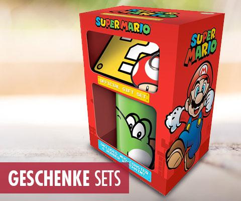 Super Mario, Nintendo, Geschenksets, Gift Set,...