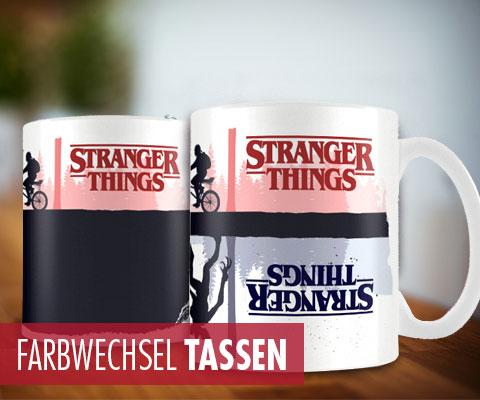 Farbwechsel Tassen, Heat Changing Mugs, Spezial Tassen,...