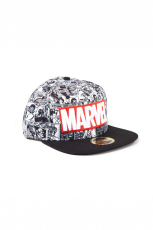 Marvel, Classic Red and White Logo Snapback