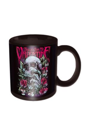 Bullet For My Valentine, Skull Red Eyes Tasse