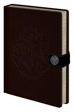 Harry Potter, Hogwarts Crest A5 Clasp Notizbuch