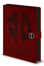 Deadpool, Splat A5 Clasp Notizbuch