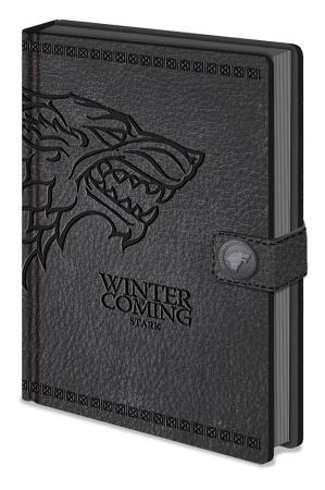 Game Of Thrones, Stark A5 Clasp Notizbuch