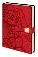 Super Mario, A5 Clasp Notizbuch