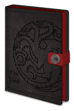Game Of Thrones, Targaryen A5 Clasp Notizbuch