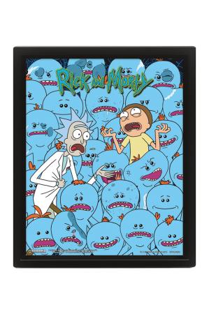 Rick And Morty, Mr. Meeseeks 3D Bild