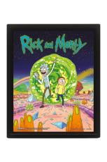 Rick And Morty, Portal 3D Bild