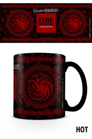 Game Of Thrones, Targaryen Heat Change Tasse