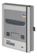 Nintendo, SNES Premium A5 Notizbuch
