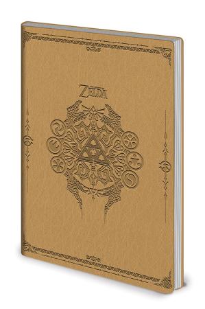 Zelda, Sage Symbols Flexi Cover A5 Notizbuch