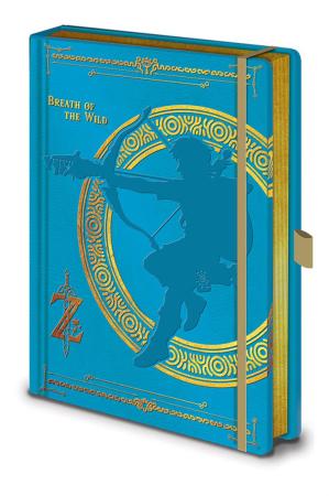 Zelda, Breath Of The Wild Premium A5 Notizbuch