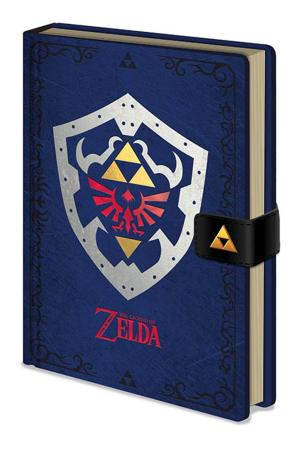 Zelda, Hylian Shield Premium A5 Notizbuch