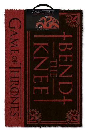 Game Of Thrones,  Bend The Knee Fußmatte