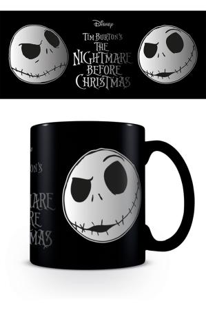 Nightmare Before Christmas, Jack Face Foil Tasse