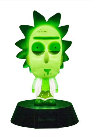 Rick And Morty, Toxic Rick Icon Light Limited Edition