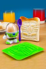Toy Story, Buzz Lightyear Eierbecher & Toastausstecher