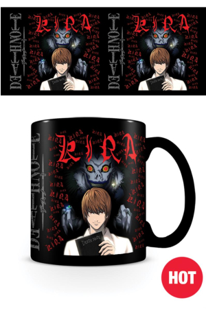 Death Note, Kira Heat Change Tasse