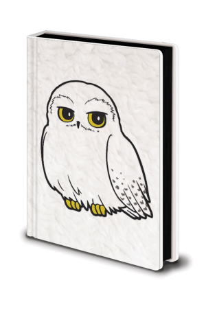 Harry Potter, Hedwig Fluffy A5 Premium Notizbuch