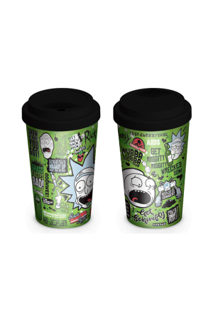 Rick And Morty, Quotes Coffee To Go Becher