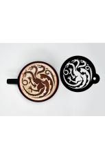 Game Of Thrones, Targaryen Cappuccino Tasse 630 ml
