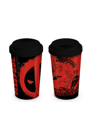 Deadpool, Unicorn Coffee To Go Becher