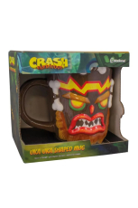 Crash Bandicoot, Uka Uka 3D Tasse